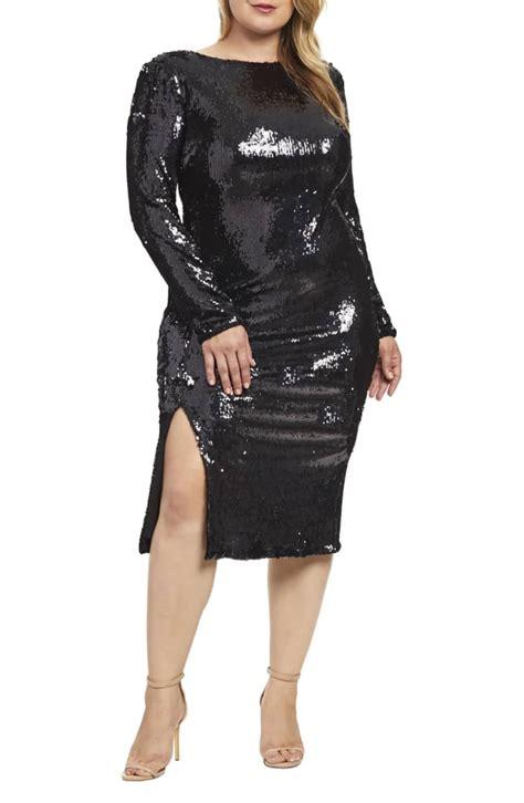 dress  population natalie sequin sheath dress miley
