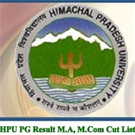 Hpu Mba Entrance Syllabus by Hpu Pg Result 2017 M A M 2nd 4th 6th Sem Cut List