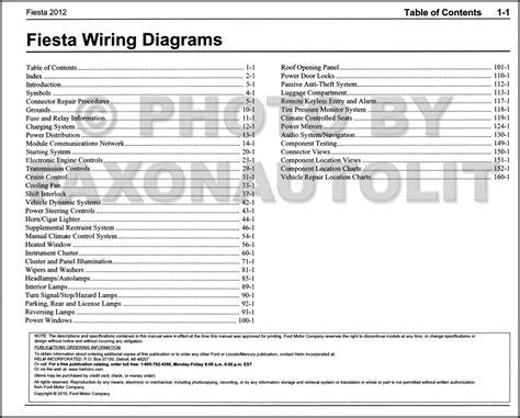 2012 ford wiring diagram manual original
