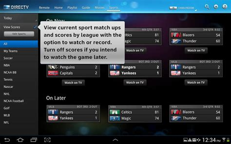 directv app for android tablet directv releases tablet app for android droid
