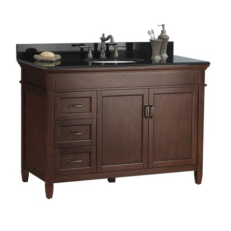 foremost ashburn 49 in w x 22 in d bath vanity in