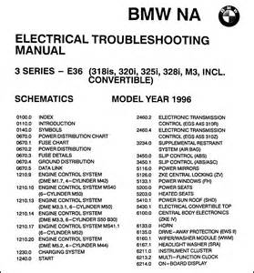 1996 bmw 318is 320i 325i 328i amp c m3 electrical