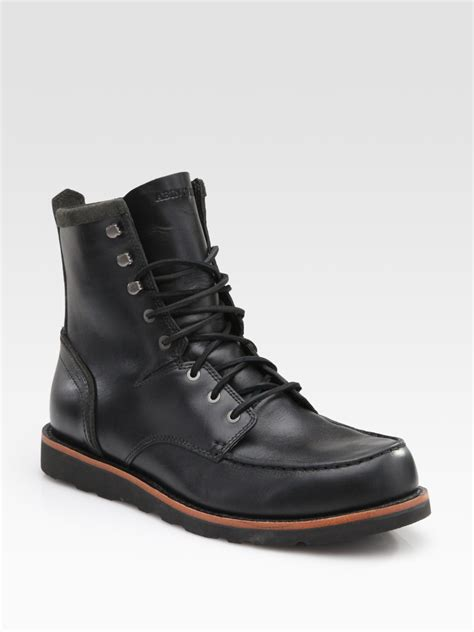 boots for timberland abington farmers boots in black for lyst