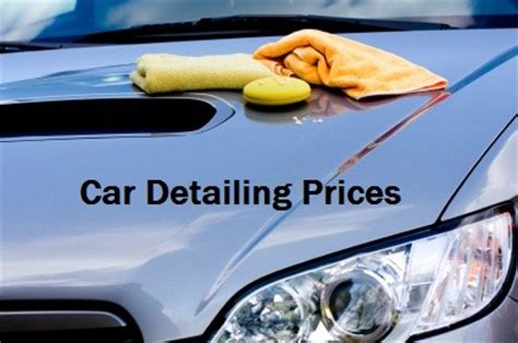 Car Interior Detailing Near Me by Car Detailing Prices Average Cost Per Vehicle Car