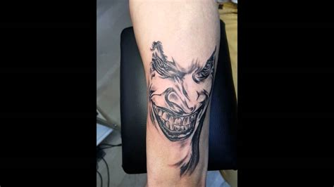 joker tattoo youtube joker tattoo youtube