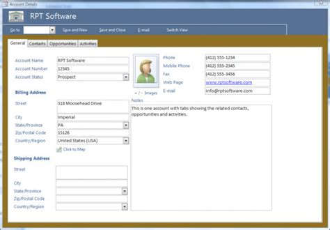 crm access database template free hardhost info