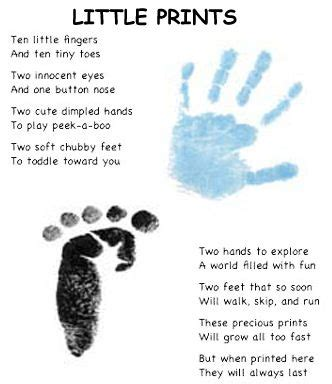 quotes for baby and foot prints quotesgram