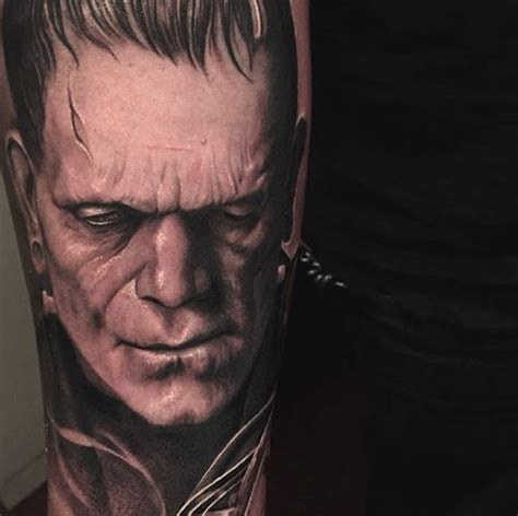 frankenstein tattoos 40 must see tattoos for temporary