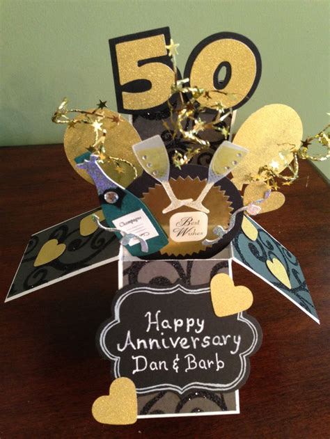 50th Wedding Anniversary Card Box by 94 Best Card In A Box Card Images On Card