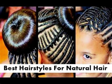 best little african american girls hairstyles for natural