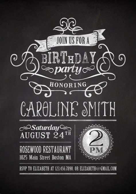 21st invitations templates google search josh 21 pinterest