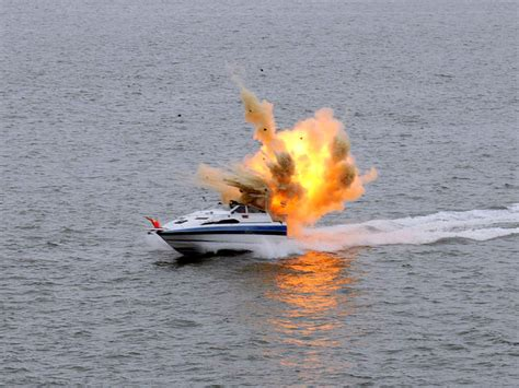 electric fire boat and you thought you didn t need a paddle porsche pontoon