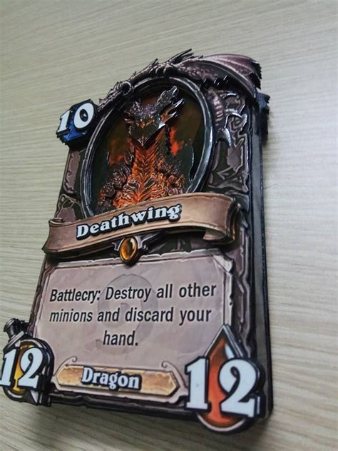 make hearthstone cards check out these real hearthstone cards