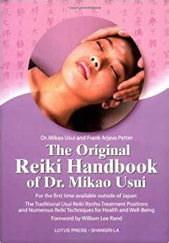 amazon original reiki handbook  dr mikao usui