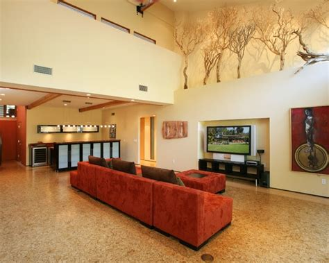 contemporary spaces high ledges design pictures remodel
