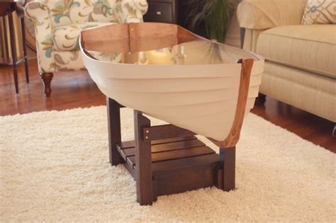 wooden boat coffee table coffee table boat modern coffee tables atlanta by