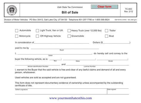 washington state vehicle bill of sale printable wa vehicle bill of sale vehicle ideas