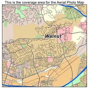 walnut california map landsat