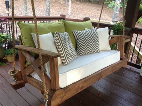 porch swing bed mattress best 25 porch swings ideas on pinterest