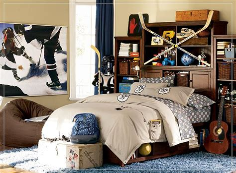 boy bedroom ideas sports teen boys sports theme bedrooms room design ideas