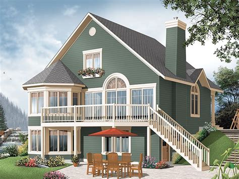 sloped lot house plans plan 027h 0226 find unique house plans home plans and