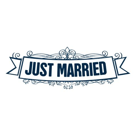 Wedding Banner Just Married by Just Married Banner Png Transparent Just Married Banner