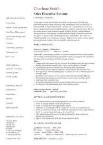 executive resumes sles sales executive resume