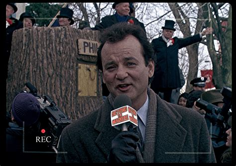 groundhog day phil connors this is phil connors reporting for beyond the marquee from