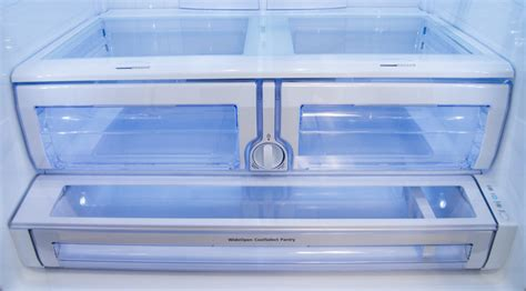 How To Clean Samsung Refrigerator Drawers by Samsung Rf28hdedbsr Refrigerator Review Reviewed