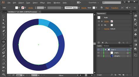 creating graphs indesign adobe illustrator how do i make an incomplete circle