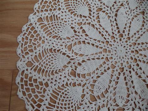 Handmade Crochet Designs - handmade crocheted pineapple pattern doily ad 1117018