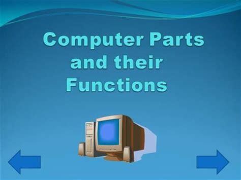 computer parts authorstream
