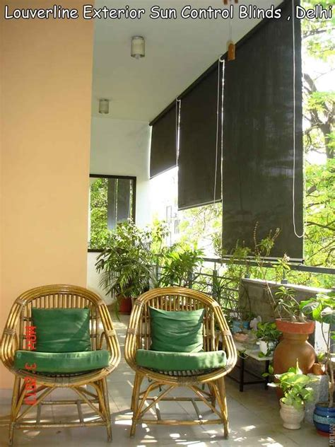 balcony with bamboo chairs design by g p verma interior