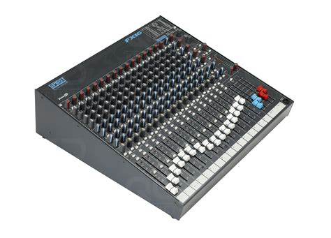 Mixer Soundcraft Fx 16 qed productions equipment soundcraft fx 16