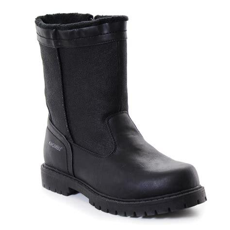 khombu mens boots khombu canaan snow boot s ebay