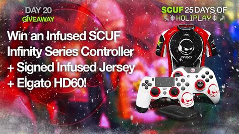 Scuf Giveaway - scuf day 20 holiplay giveaway closed youtube