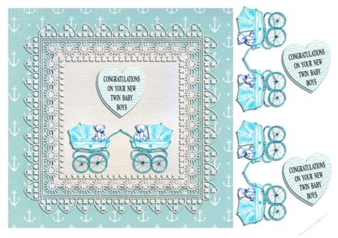 baby boy cards to make new baby boy cup731655 16561 craftsuprint