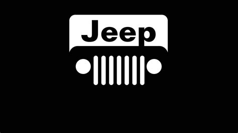 jeep logo black jeep logo wallpapers wallpaper wiki