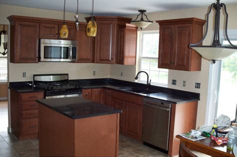american woodmark kitchen cabinets american woodmark winchester auburn glaze modern kitchen other by lowe s of reading pa