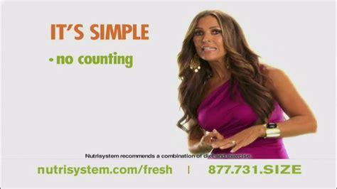 nutrisystem commercial actress jillian nutrisystem fresh start sales event tv commercial feat
