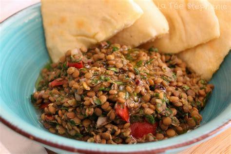 faire un taboule maison taboul 233 de lentilles et pita libanais fait