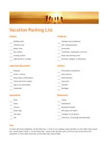 family vacation packing list template vacation packing list office templates family vacation packing list packing list beach vacation