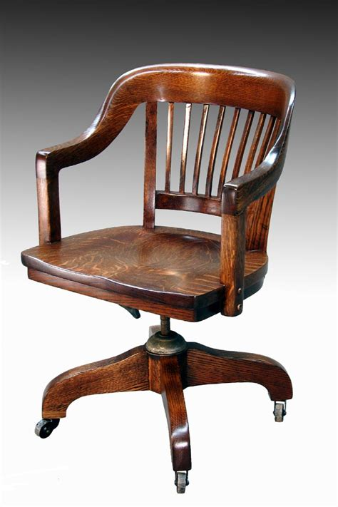Antique Office Furniture sold tiger oak lawyer s curved back office chair lawyers