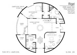 Monolithic Dome Homes Floor Plans Gallery Floor Plan Dl 5302 Monolithic Dome Institute