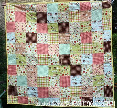 Farm Quilts by Tutorial Farm Fresh Picnic Quilt Sew Sweetness