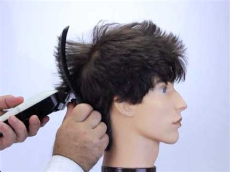 how to clipper cut s hair how to cut hair into a faux hawk style using freestyla