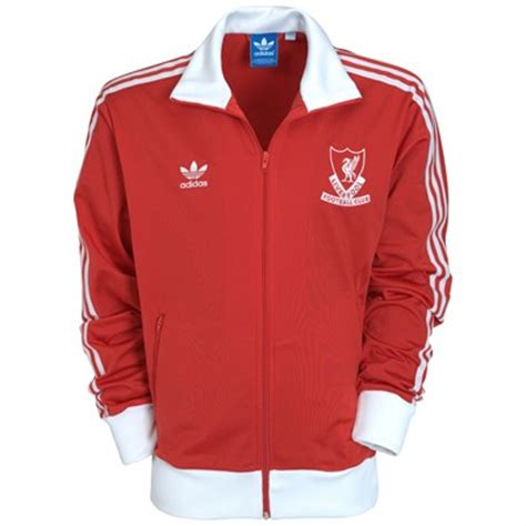 Jaket Treasked Liverpool liverpool adidas originals jacket track top football kit news new soccer jerseys