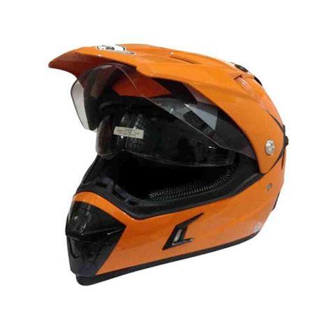 Snail Helm Mx 311 jual snail hlm6088 mx311 orange helm motocross harga kualitas terjamin blibli