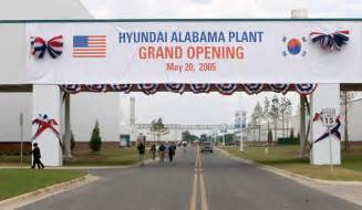 Hyundai Plant Montgomery Alabama The Second Industrialization Of The American South Will