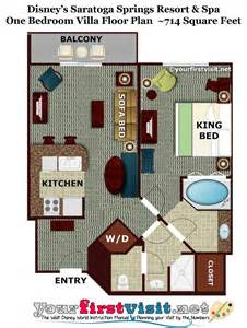 saratoga springs two bedroom villa floor plan review disney s saratoga springs resort spa page 4 yourfirstvisit net